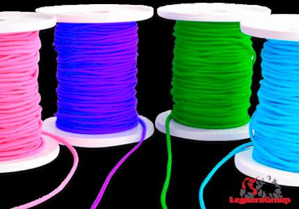 fil elastique colore pour masques