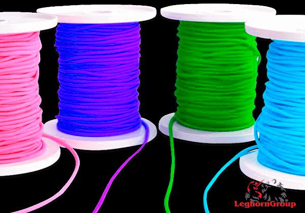 Fil élastique Coloré Pour Masques